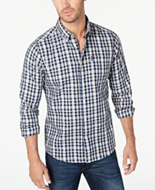 Barbour Men's Tailored-Fit Country Check 2 Shirt