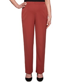 Alfred Dunner Petite Cedar Canyon Pull-On Pants