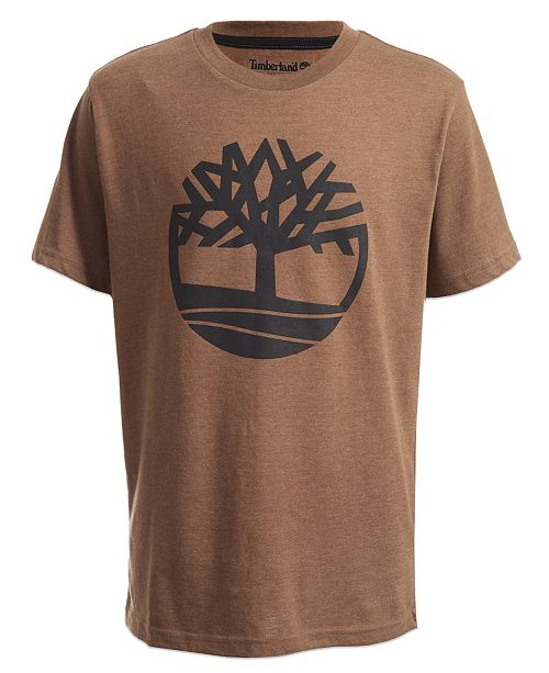 Timberland Big Boys Tree Logo T-Shirt