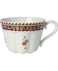 Villeroy & Boch Winter Bakery Delight Small Cup, Gingerbread Design