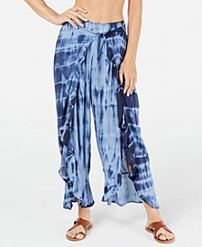 Tie-Dye Cover-Up Pants