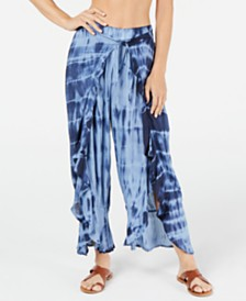 Raviya Tie-Dye Cover-Up Pants