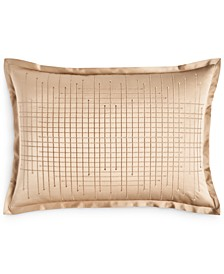 CLOSEOUT! Deco Embroidery King Sham, Created for Macy's