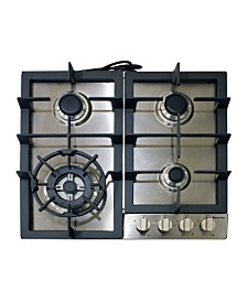 "Magic Chef 24"" Built-in Gas Cooktop"