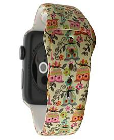 Women's Silicone Apple Watch Strap 38mm