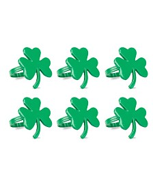 Shamrock Napkin Ring, Set of 6
