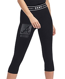 DKNY Women's Atlanta Braves Capri Leggings