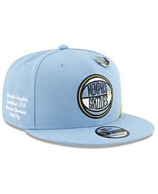 New Era Big Boys Memphis Grizzlies 2019 On-Court Collection 9FIFTY Snapback Cap