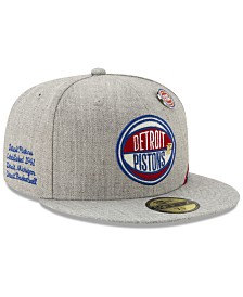 New Era Detroit Pistons 2019 On-Court Collection 59FIFTY Fitted Cap