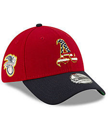 New Era Oakland Athletics Stars and Stripes 39THIRTY Cap