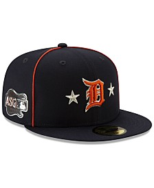 New Era Detroit Tigers All Star Game Patch 59FIFTY Cap