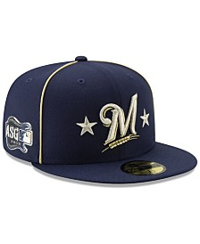 New Era Milwaukee Brewers All Star Game Patch 59FIFTY Cap