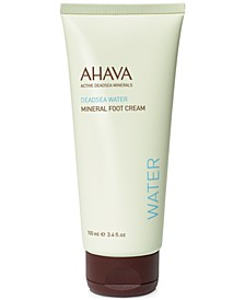 Mineral Foot Cream, 3.4 oz