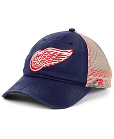 Authentic NHL Headwear Detroit Red Wings Americana Trucker Snapback Cap