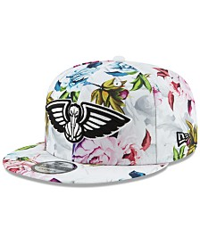 New Era New Orleans Pelicans Funky Floral 9FIFTY Cap
