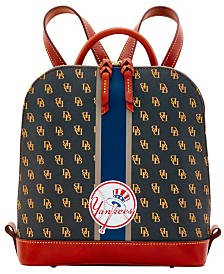 Dooney & Bourke New York Yankees Zip Pod Stadium Signature Backpack