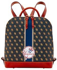 Dooney & Bourke New York Yankees Zip Pod Stadium Signature Backpack