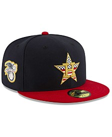 New Era Boys' Houston Astros Stars and Stripes 59FIFTY Cap