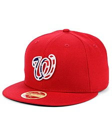 New Era Washington Nationals Retro 2009 Stars and Stripes 59FIFTY Fitted Cap