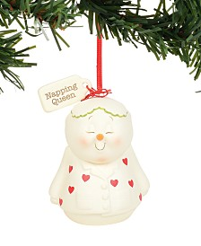 Department 56 Snowpinions Napping Queen Ornament