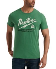 Lucky Brand Men's Neptune Guitar Co. Graphic T-Shirt