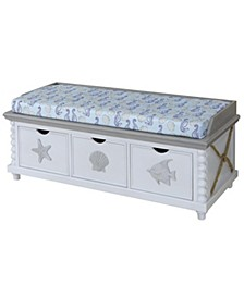 Montauk Storage Bench