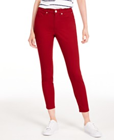 Tommy Hilfiger Tribeca Skinny Cropped Jeans, Created for Macy's
