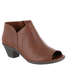 Voyage Open Toe Booties