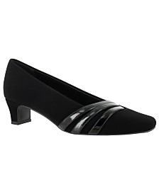 Easy Street Entice Squared toe Pumps