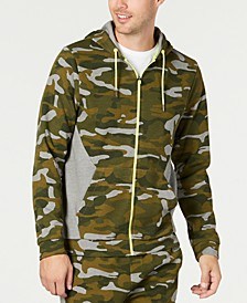 Men's Colorblocked Camo Jacket, Created for Macy's