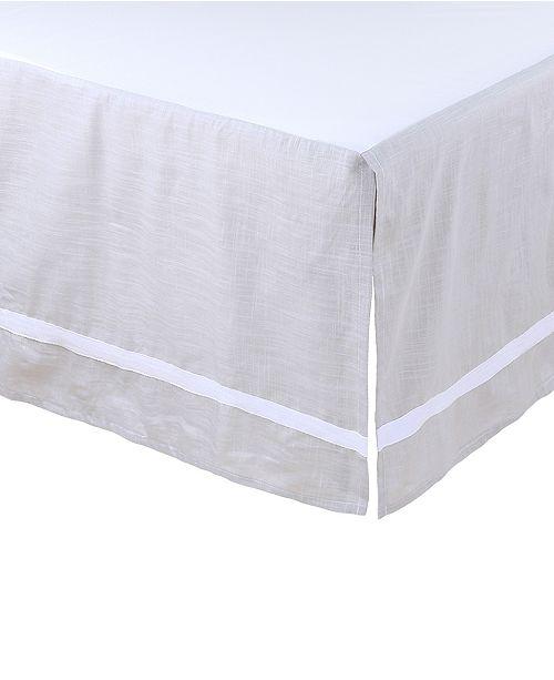 The Peanutshell Farmhouse Crib Skirt