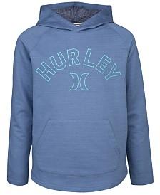Hurley Big Boys Logo-Print Hoodie