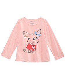 Toddler Girls Dog-Print Cotton T-Shirt, Created for Macy's