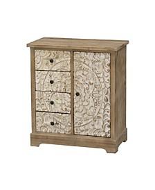 1 Door 4 Drawer Cabinet