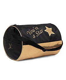 Big Boys & Girls Star Barrel Bag