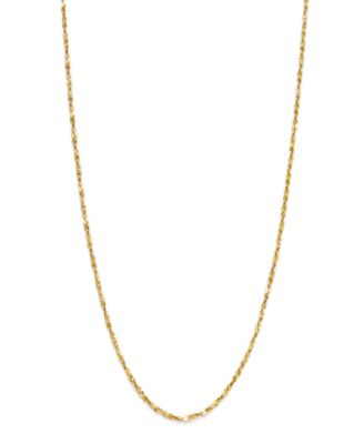 Giani Bernini 18K Gold over Sterling Silver Necklace 20 Small