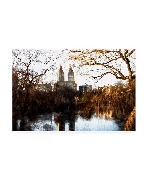 "Trademark Global Philippe Hugonnard Fall Colors on Central Park Canvas Art - 19.5"" x 26"""