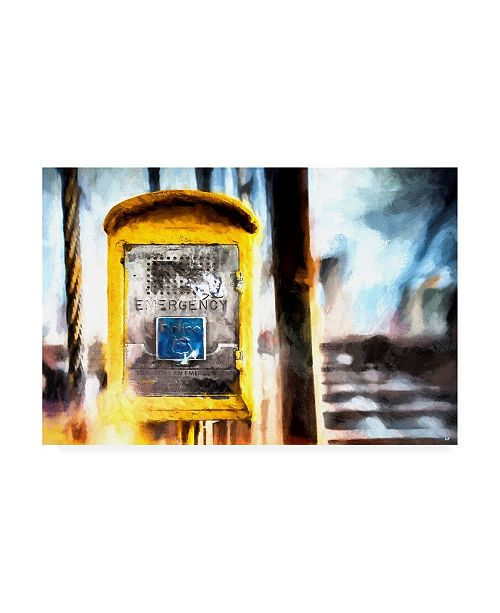 "Trademark Global Philippe Hugonnard NYC Emergency Canvas Art - 19.5"" x 26"""