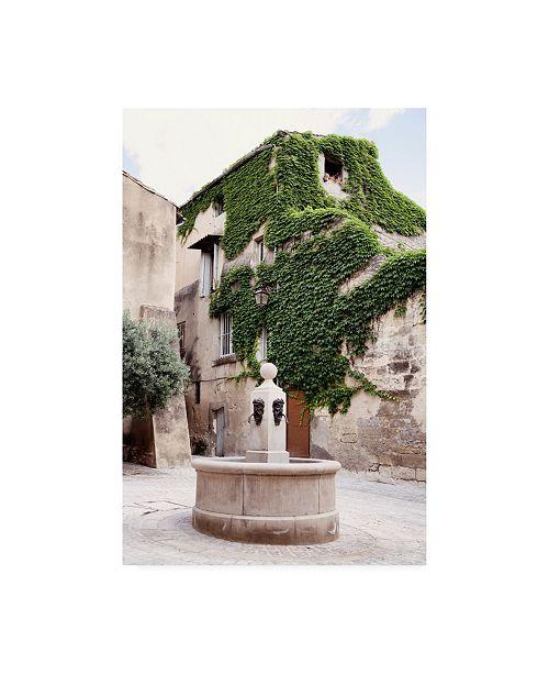 "Trademark Global Philippe Hugonnard France Provence Provencal Place Uzes Canvas Art - 36.5"" x 48"""