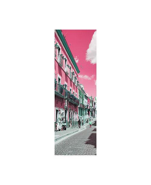 "Trademark Global Philippe Hugonnard Viva Mexico 2 Street Colors Guanajuato III Canvas Art - 27"" x 33.5"""
