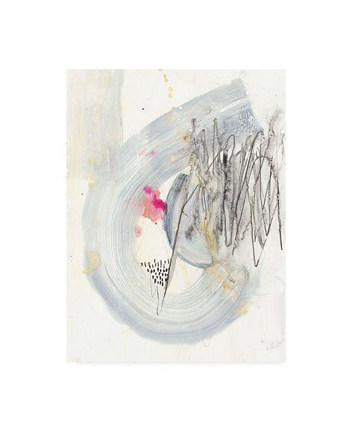 "Trademark Global Jennifer Goldberger Intentions I Canvas Art - 36.5"" x 48"""