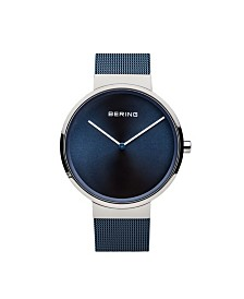 Bering Men's Classic Stainless Steel Mesh Watch