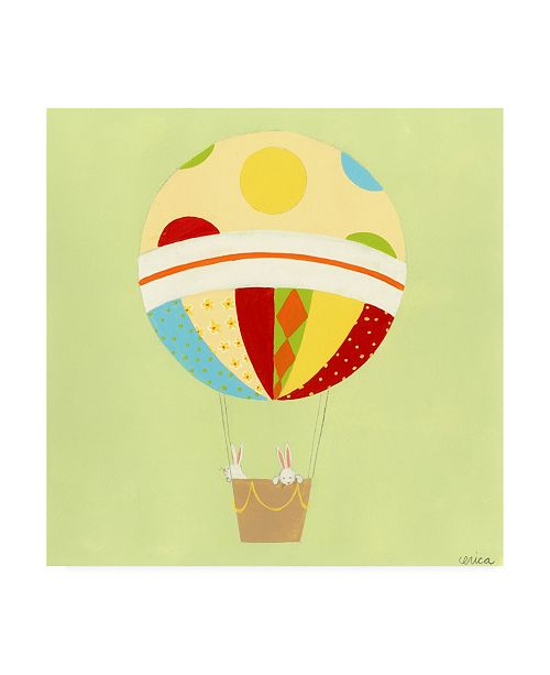 """Trademark Global June Erica Vess Up, Up and Away IV Childrens Art Canvas Art - 15.5"""" x 21"""""""