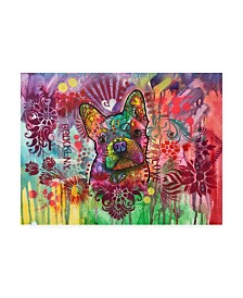 """Dean Russo Frenchie Jacket Canvas Art - 36.5"""" x 48"""""""
