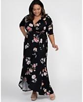 c2282f02492b Kiyonna Women's Plus Size Meadow Dream Maxi Dress