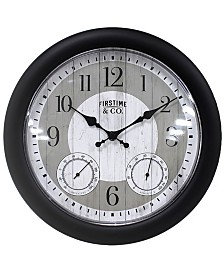 FirsTime & Co.® Summer Cottage Outdoor Clock