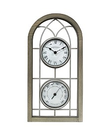 FirsTime & Co.® Farmhouse Arch Outdoor Clock