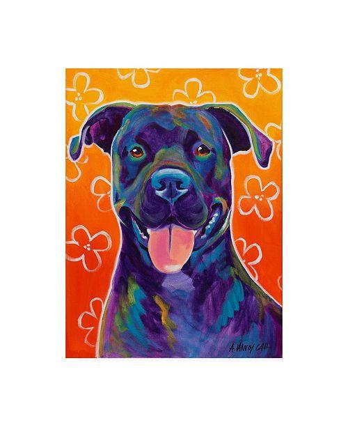 "Trademark Global DawgArt Martha Canvas Art - 19.5"" x 26"""