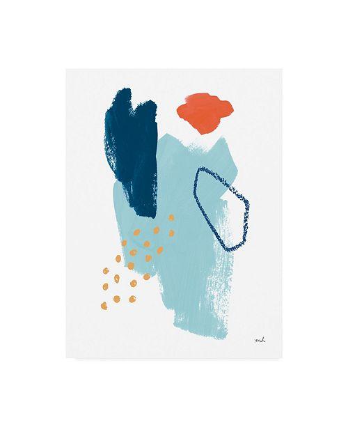 "Trademark Global Moira Hershey Eternal Optimist I Canvas Art - 36.5"" x 48"""