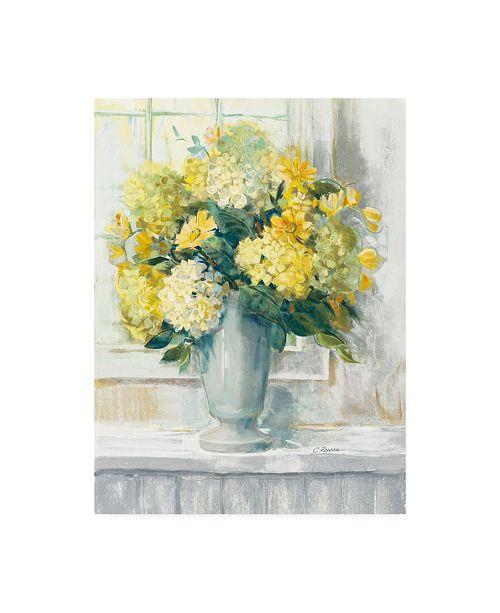 """Trademark Global Carol Rowan Endless Summer Bouquet II Yellow Canvas Art - 15.5"""" x 21"""""""